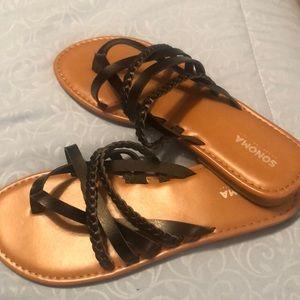 Black Sonoma sandals